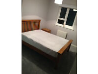 Double Room in Dennistoun with own bathroom, parking & close to train station, shared garden