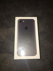 Brand New Sealed - iPhone 7 32gb Vodafone Matte Black