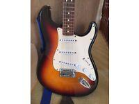 Fender Stratocaster MIM 2002 mexico sunburst