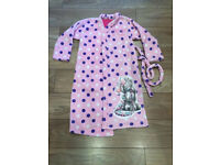 Marks & Spencer girls Me to You Tatty Teddy Dressing Gown/Robe for 11-12 years. Very good condition!