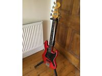 Fender Jazz Short Scale Bass - Candy Apple Red **PICK UP ONLY** in Edinburgh UK