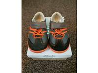 Boys Clarks shoes 4.5G excellent condition as hardly worn