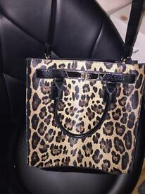 2 womans ladies handbags