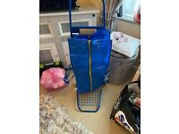Trolley with bag from IKEA