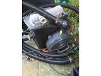 Pond pump & filter