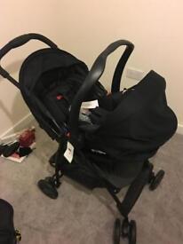 Graco travel system pram car seat