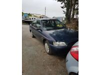 1995 FORD ESCORT 1.6 16V PETROL BREAKING FOR PARTS