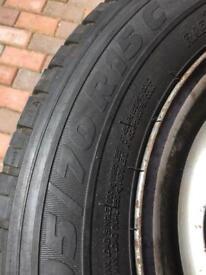 Transit van tyres