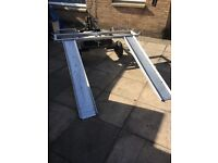 towing dolly heavy duty with ramps un-braked good condition