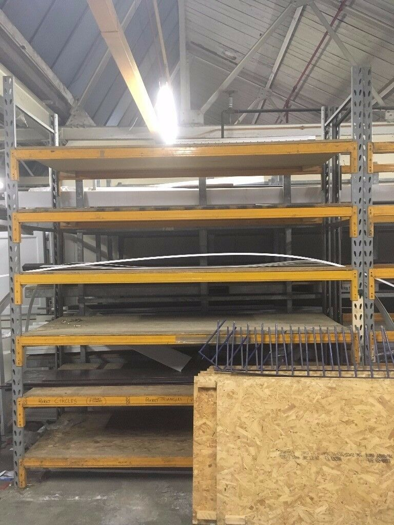 Commercial heavy duty racking