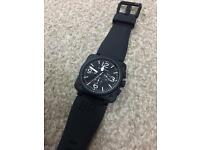 Bell & Ross Automatic movement watch B&R black