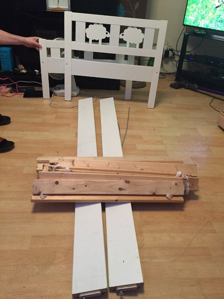 Ikea Sultan Lade Toddler Bed