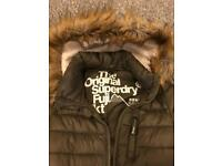 Superdry coat size M