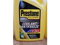 Prestone coolant/Antifreeze