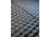 18mm Rubber Stable Mats 6'x4'