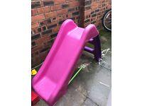 Pink Slide for kids