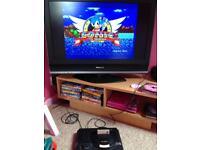 Sega megadrive plus games - working