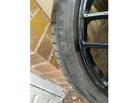 18 inch alloy wheels (black)
