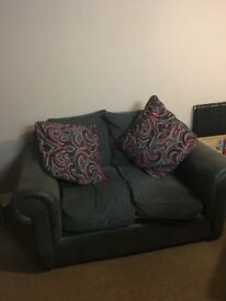 Small Modern 2 Seater Sofa