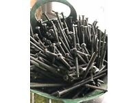 Bucket of wood screws self drilling joblot timber 15cm
