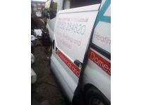 side sliding door loading white vauxhall vivaro renault trafic 01-14 van