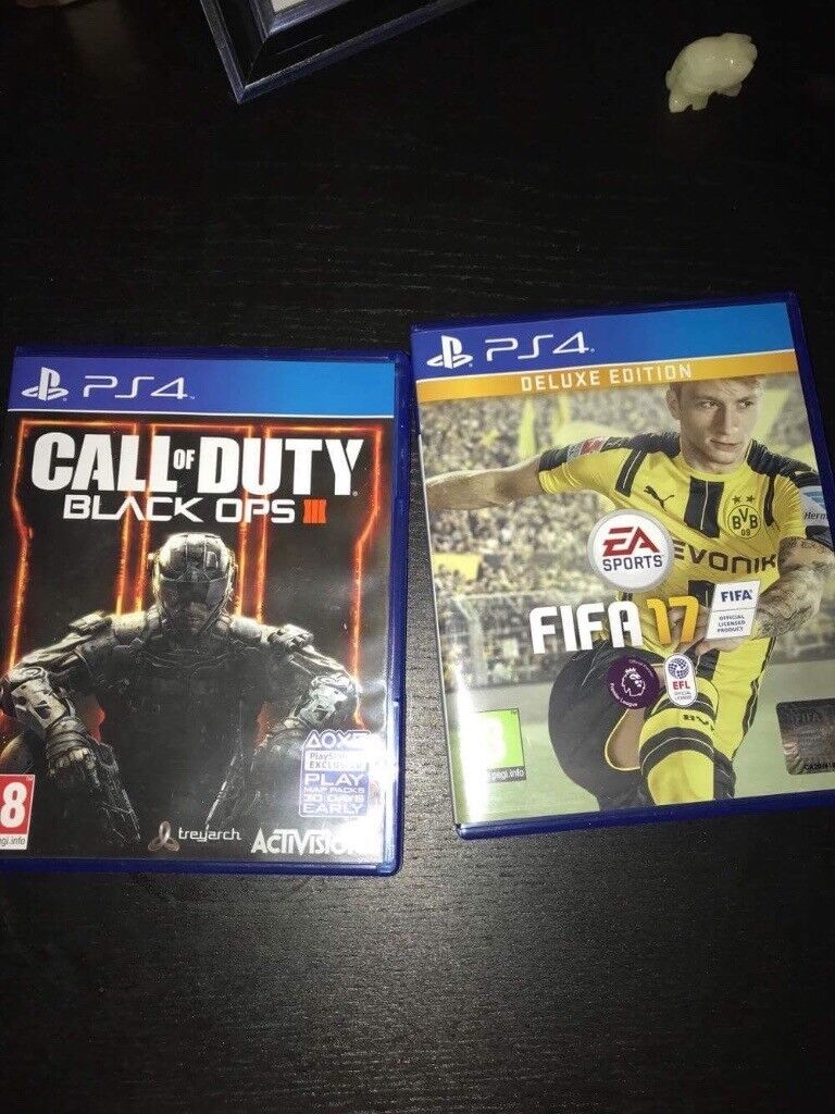 Fifa 17 & Call of Duty