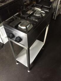 LPG Parry hob with stand. Cooker. Catering equipment