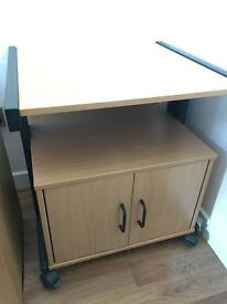 Computer/Printer Desk Cupboard - office furniture