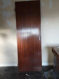 Used door solid wood?