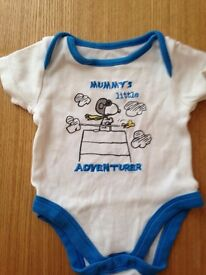 tiny baby boy vests various sizes designer labels £1 each