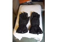 Bike gloves and boots