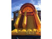 Inflatable slide (not bouncy castle)