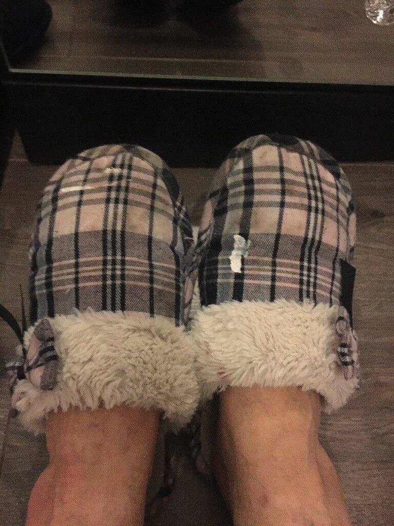 Worn slippers for sale