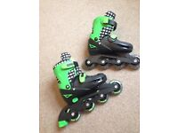 Kids adjustable roller blades size 13-3 great used condition