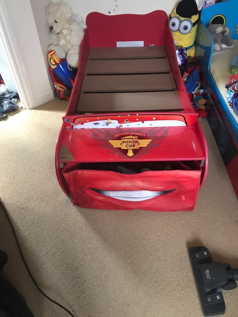 Toddler car McQueen bed