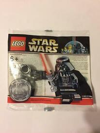 Lego chrome Darth Vader rare Star Wars