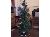 5ft tesco fibre optic christmas tree