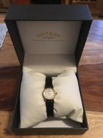 Rotary watch 9ct gold oyster shell
