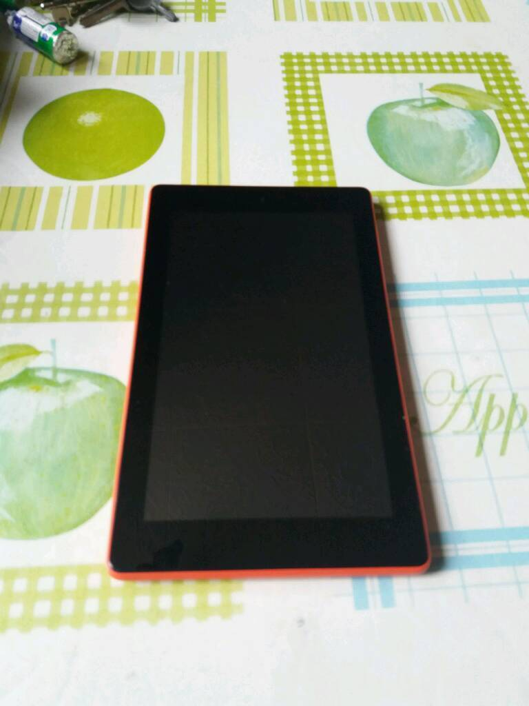 Fire kindle 7th 16gb red