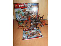 Big lego ninjago set with box and instruction