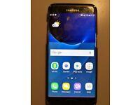 Unlocked Samsung Galaxy S7 Edge with damaged screen