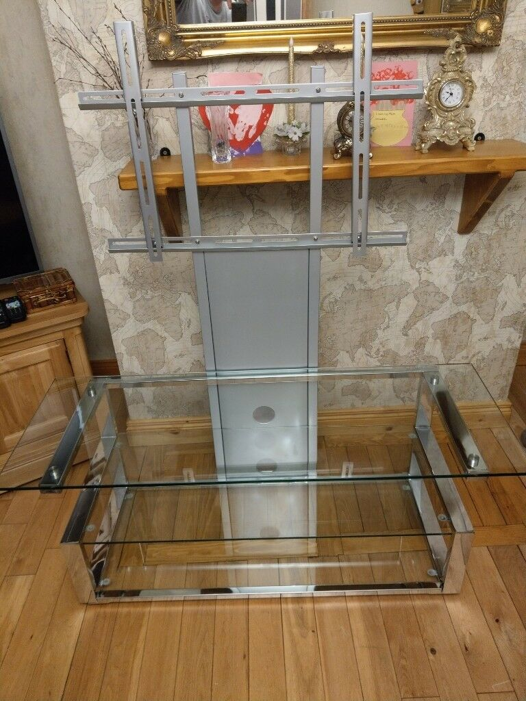 Clear Glass 3 Tier Tv Stand Mount In Belfast City Centre Belfast