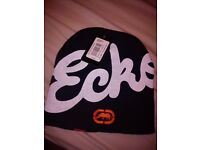 BLACK ECKO BEANIE HAT BRAND NEW WITH TAGS Perfect Christmas Present