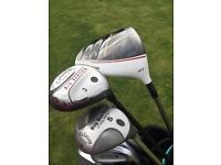 GOLF CLUBS ( Taylor made Callaway Maxfli ) SOLD PENDING COLLECTION