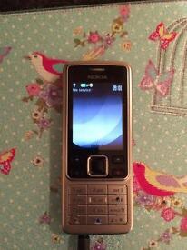 Nokia 6300 Silver mobile phone