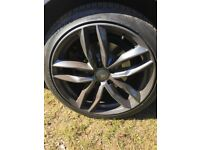 """AUDI RS4 STYLE 18"""" ALLOYS 4NO"""