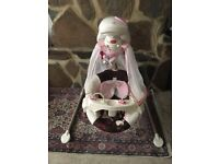 Fisher Price Butterfly Cradle n Swing