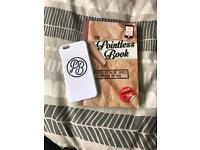 ALFIE DEYES BOOK AND PHONE CASE