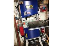 """Bandsaw 14"""" on stand"""