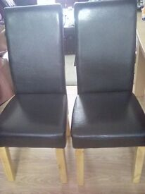 Dining table and 8chairs